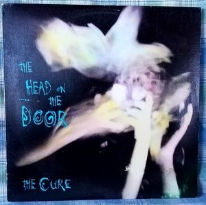 Record Album-The Cure-The Head On The Door